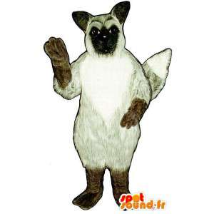 Medvídek s Santa kostýmu bundě  - MASFR004325 - Bear Mascot
