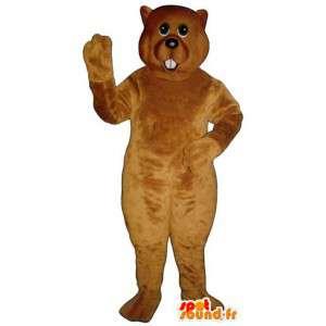 Polar Bear Mascot Iso teddy - bear puku - MASFR004328 - Bear Mascot