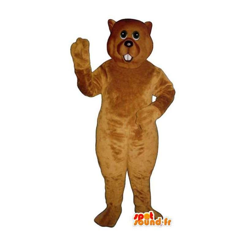 Polar bear mascot united Plush - Bear Costume - MASFR004328 - Bear mascot