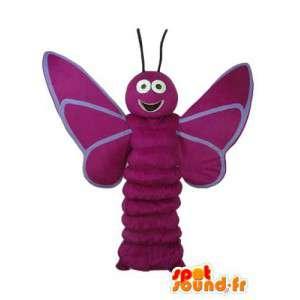 Maskot rød øyenstikker - Dragonfly Costume