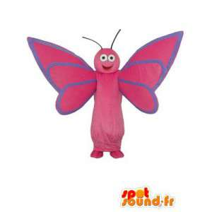 Roze libel mascotte - Dragonfly Costume