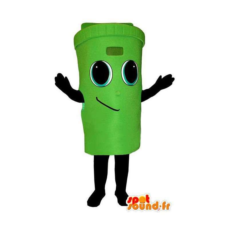 Costume representing a public trash - MASFR004352 - Mascots home