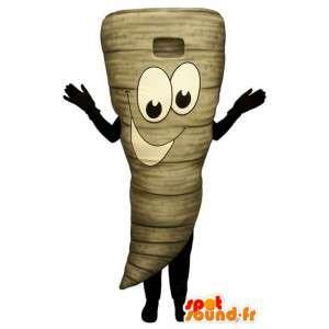 Disfraces representan una zanahoria - Disfraz varios tamaños