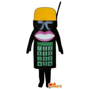 Puku edustaa viiniköynnös - Muokattavat - MASFR004375 - Mascottes de téléphones