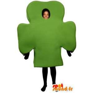 Costume represents a puzzle piece