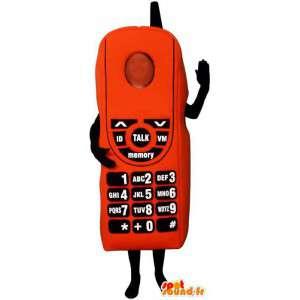 Mobilní telefon kostým - cell převlek - MASFR004386 - Maskoti telefony