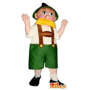 Bauernkostüm - Kostüm Bauer - MASFR004389 - Menschliche Maskottchen