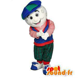 Mascote golfista. traje golfista - customizável - MASFR004599 - Mascotes homem