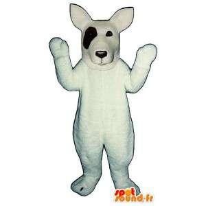 Dog Mascot Jack Russell valkoinen. Jack Russell Costume - MASFR004643 - koira Maskotteja