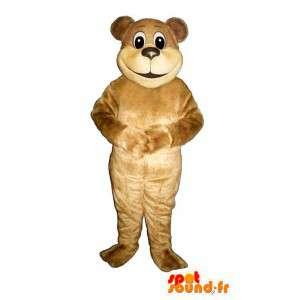 Mascot urso bege. Fantasia de Urso Bege - MASFR004646 - mascote do urso