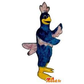 Maskotti lintu sininen ja valkoinen jättiläinen. Bird Costume - MASFR004666 - maskotti lintuja