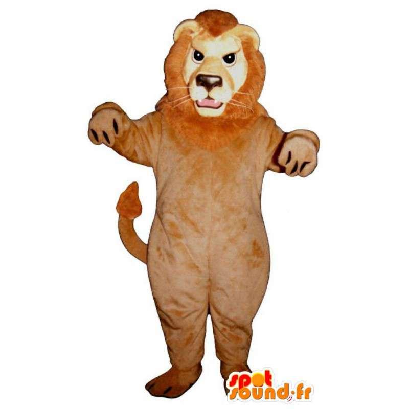 Stuffed lion mascot. Lion costume - MASFR004677 - Lion mascots