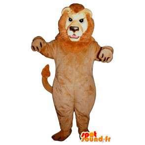 Mascotte de lion en peluche. Costume de lion - MASFR004677 - Mascottes Lion