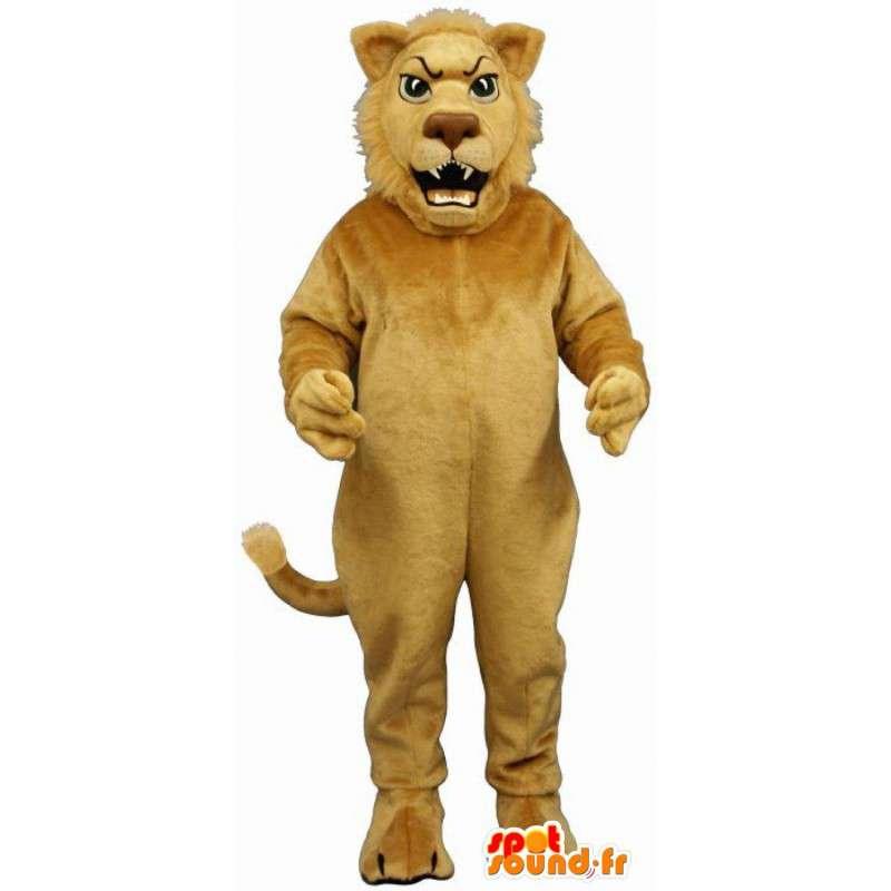 Löwe-Maskottchen.Lion Kostüm - Tragen alle Größen - MASFR004678 - Löwen-Maskottchen