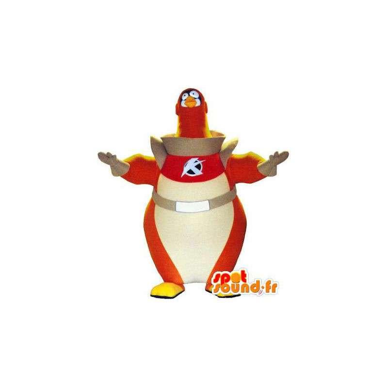 Mascotte d'oiseau astronaute. Costume d'oiseau cosmonaute - MASFR004762 - Mascotte d'oiseaux