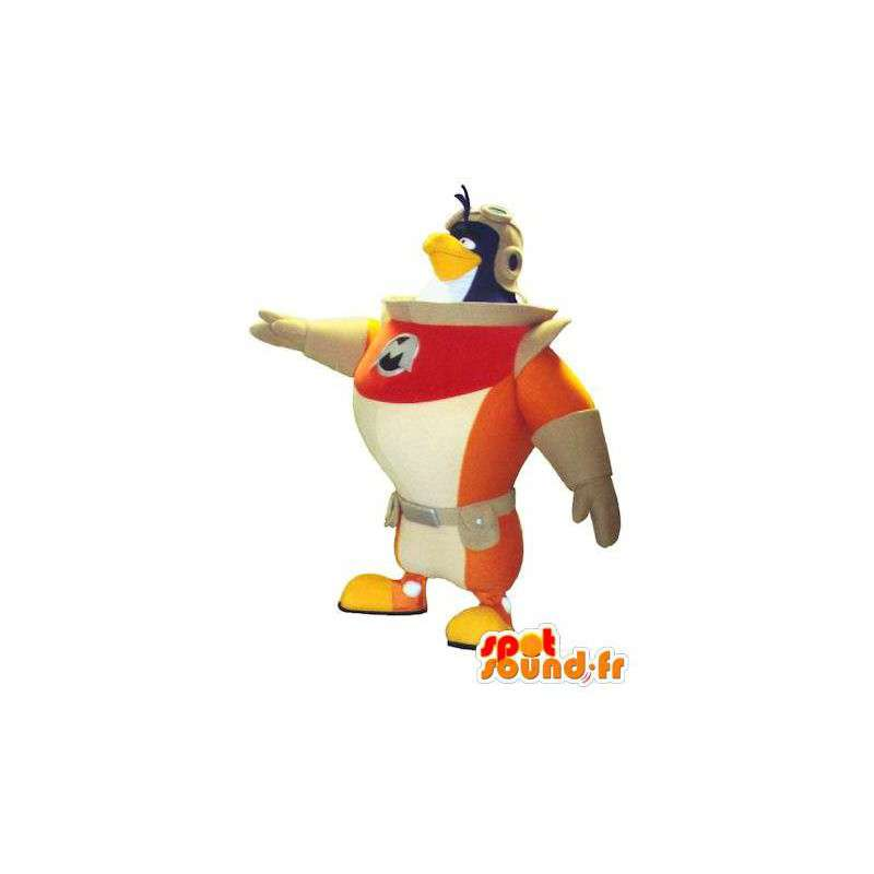 Ptak maskotka astronautą. kosmonauta kostium pingwina - MASFR004763 - ptaki Mascot