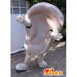 Mascot in the form of giant ear. Costume earrings - MASFR004791 - Mascots unclassified