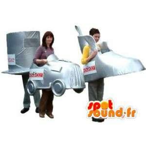 Maskottchen förmige Stücke von Monopoly.3-er Pack - MASFR004830 - Maskottchen von Objekten