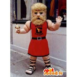 Mascot blacksmith in traditional dress - MASFR004860 - Human mascots