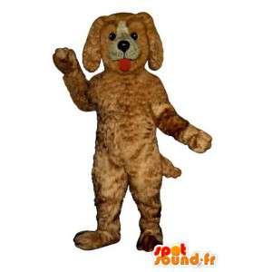 Täytetyt koira maskotti. ruskea koira puku - MASFR004412 - koira Maskotteja