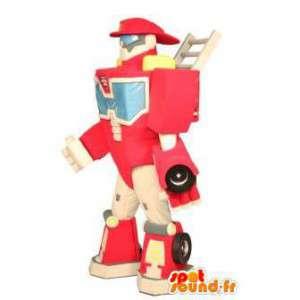 マスコットトランスフォーマー。トランスフォーマーのロボットの衣装 - MASFR004922 - マスコットロボット