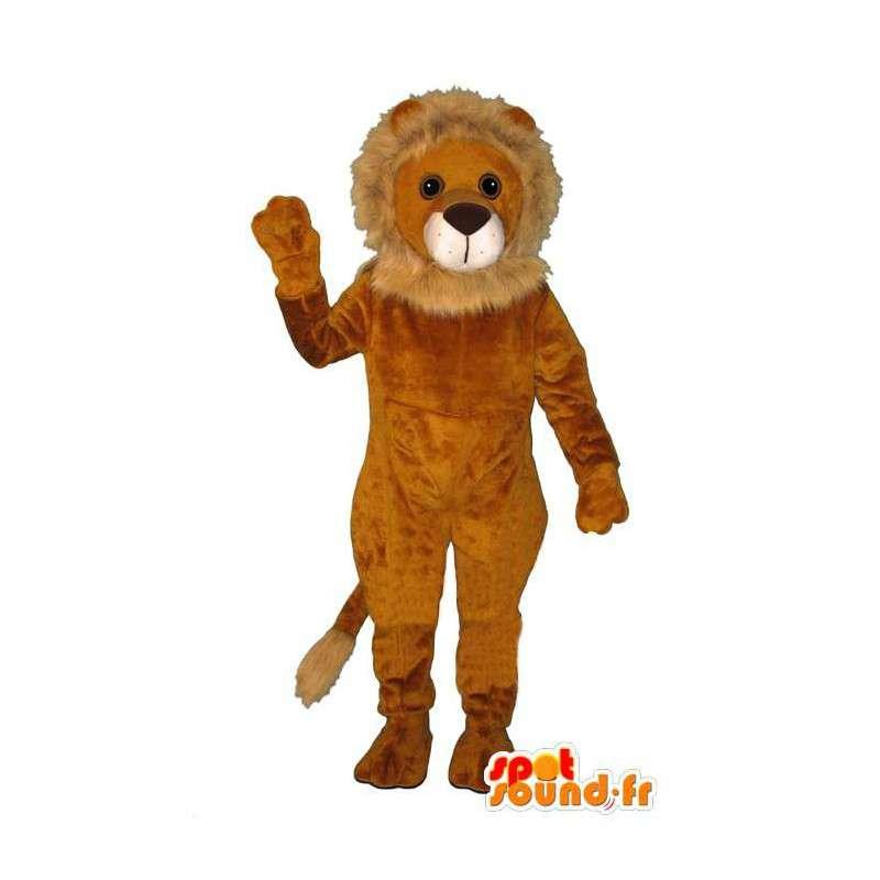 Kostüm cub - Disguise Junges - MASFR004925 - Löwen-Maskottchen