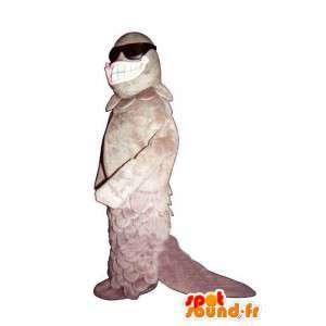 Merkelig fugl kostyme - Mascot merkelig fugl