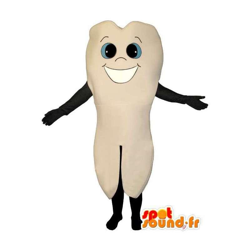 Costume representing a molar - Costume molar - MASFR004947 - Mascots of objects