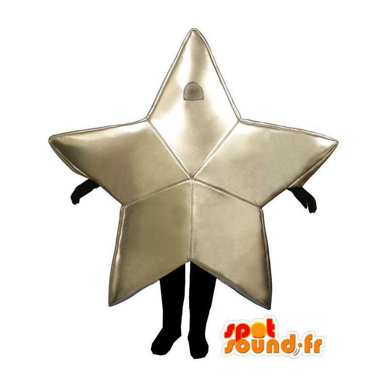 Mascotte die een vijfpuntige ster - MASFR004950 - Niet-ingedeelde Mascottes