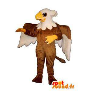 Costume sphinx with the body and wings - Eagle - MASFR004963 - Mascot of birds