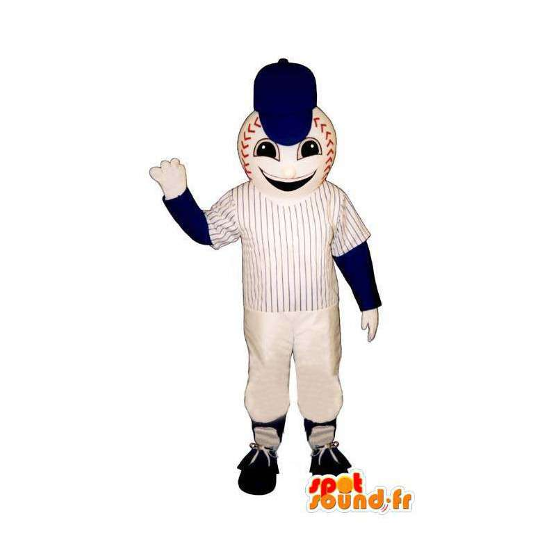 Baseball maskot - baseball dress - MASFR004964 - sport maskot