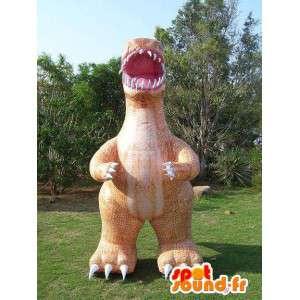 Reusachtige krokodil mascotte opblaasbare ballon
