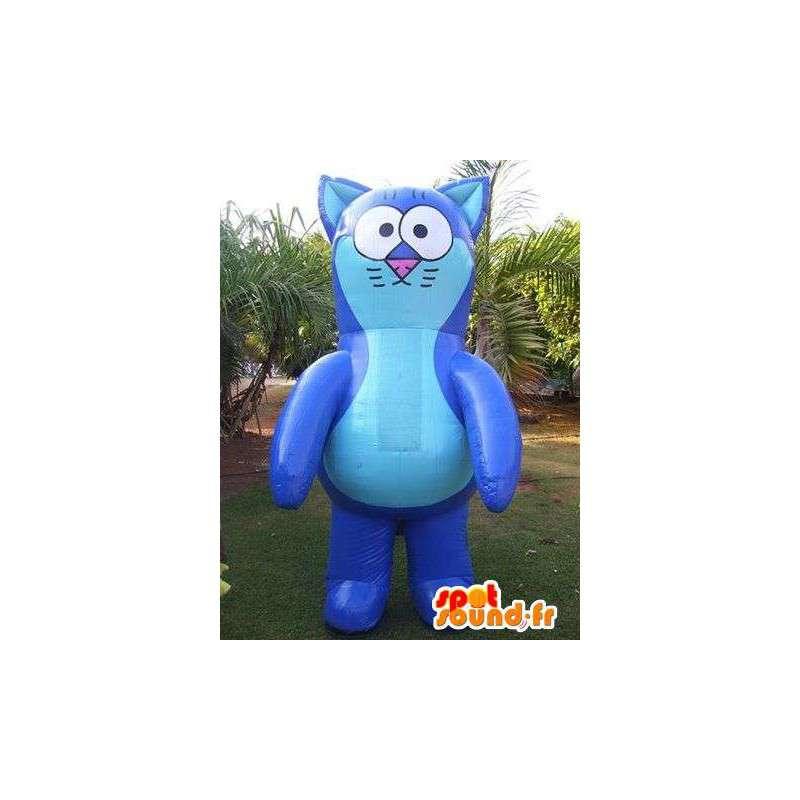 Mascotte de chat en ballon gonflable géant - MASFR005003 - Mascottes de chat
