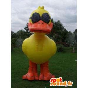 Maskottchen-Ente aufblasbaren Ballon - Anpassbare Kostüm - MASFR005004 - Enten-Maskottchen