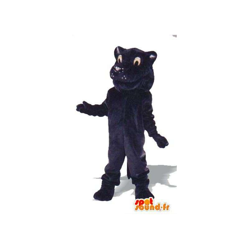 Löwe-Maskottchen Plüsch Nachtblau - Kostüm Löwe - MASFR005009 - Löwen-Maskottchen