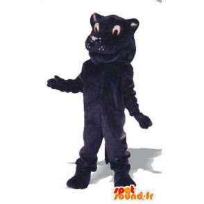 Lion mascot plush midnight blue - costume lion - MASFR005009 - Lion mascots