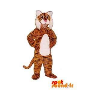 Tiger-Maskottchen Plüsch - Tiger Standort & Anreise - MASFR005014 - Tiger Maskottchen