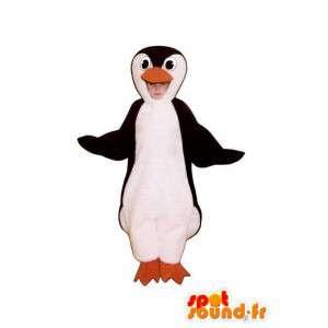 黒と白のペンギンのマスコットぬいぐるみ--masfr005023-ペンギンのマスコット