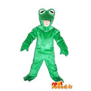 Mascot plush green frog  - MASFR005026 - Mascots frog