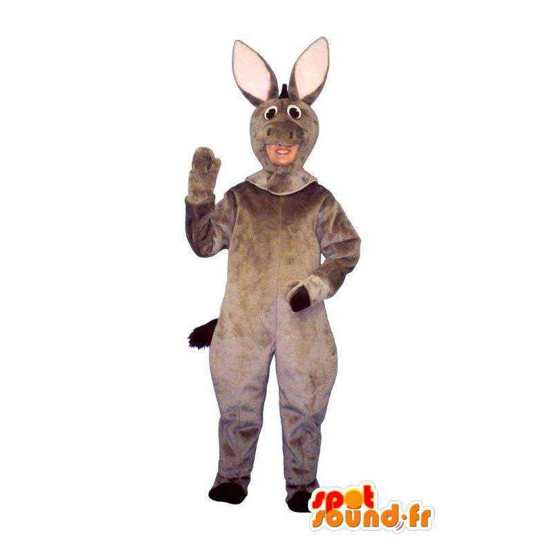 Gray pig mascot - Pork outfit - MASFR005030 - Mascots pig