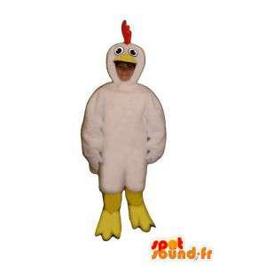 Disguise Küken - Küken-Maskottchen - MASFR005033 - Maskottchen der Hennen huhn Hahn