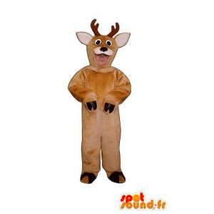 Brown mascotte peluche capra - capra Disguise