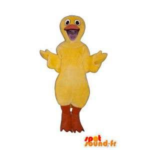 Mascot giallo canarino - abito canarino
