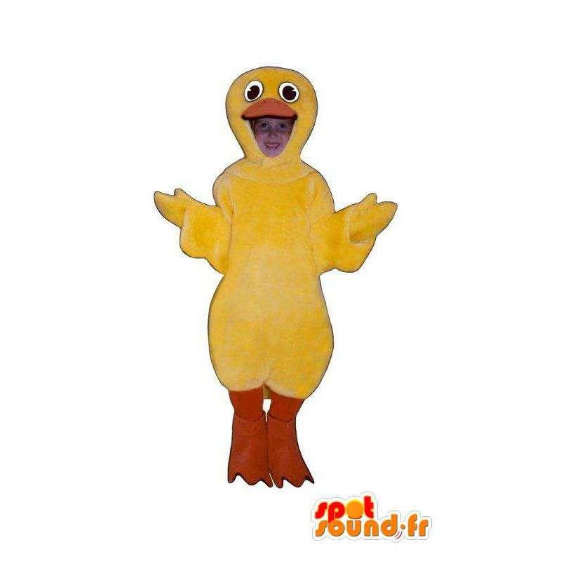 Mascotte de canari jaune - Accoutrement de canari - MASFR005035 - Mascotte de canards