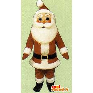 Mascotte Mikołaj - Santa Claus rynsztunku
