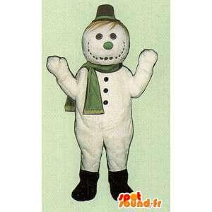 Kostüme Snowman - Schneemann-Standort & Anreise - MASFR005044 - Menschliche Maskottchen