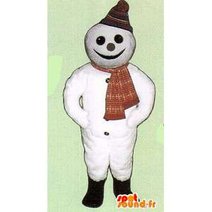 Mascot Snowman - Schneemann-Kostüm - MASFR005054 - Menschliche Maskottchen