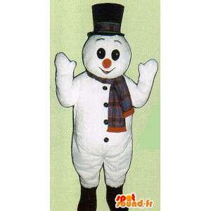 Lumiukko puku - Snowman accoutrement - MASFR005059 - Mascottes Homme