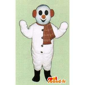 Mascot Snowman - Schneemann-Kostüm Schnee - MASFR005063 - Menschliche Maskottchen