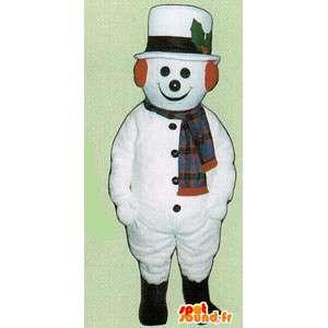Snowman Suit BCBG - snømann drakt - MASFR005064 - Man Maskoter